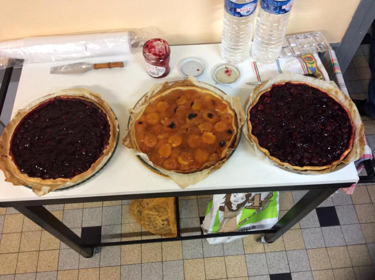 Bravo Bernard pour ces jolies tartes