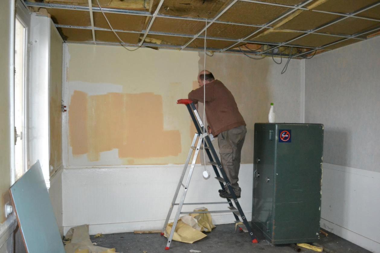 Rénovation de la salle de modélisme