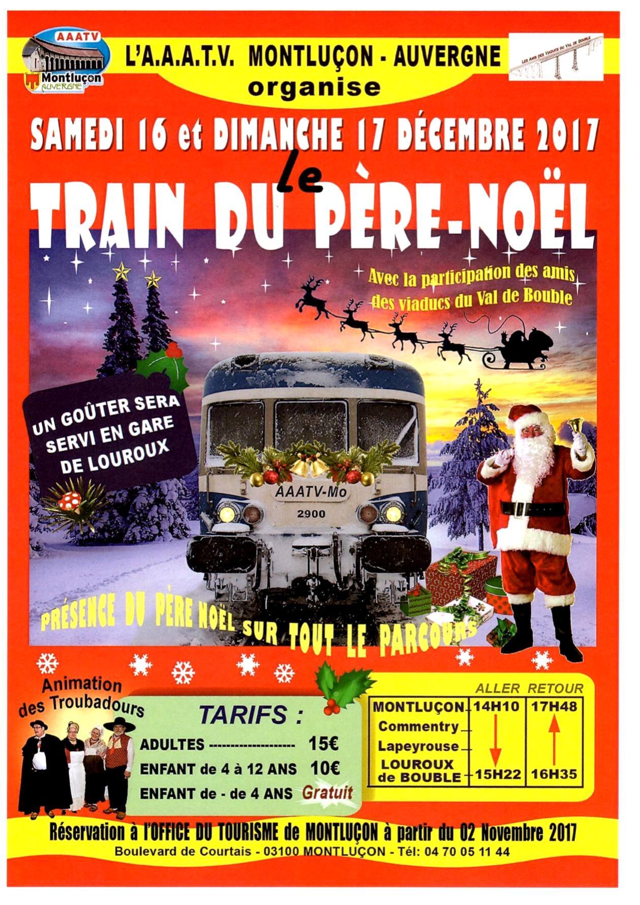 Train du Père Noël 2017