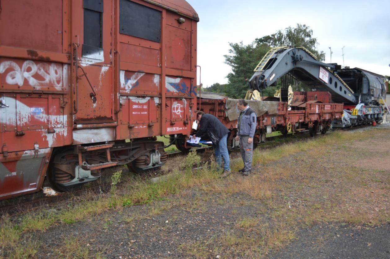 Expertise du train de secours