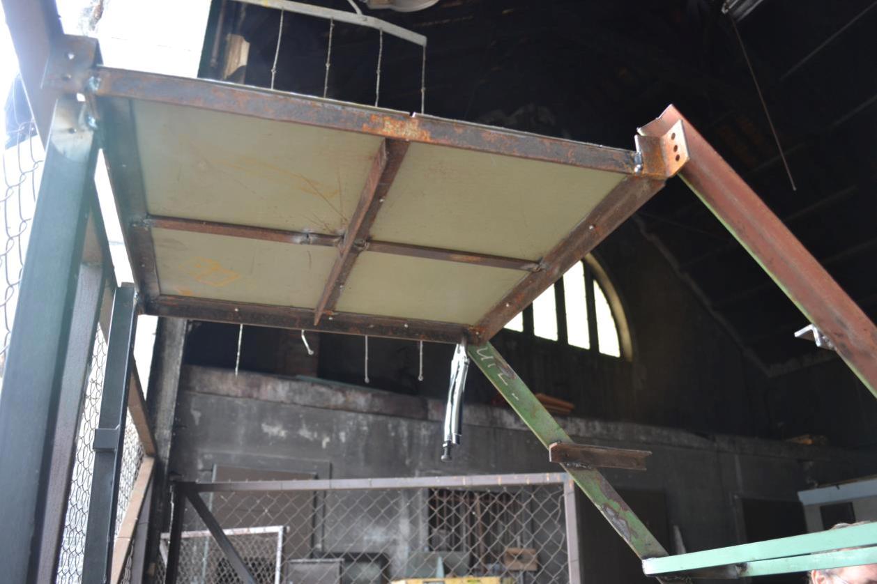 Plate forme de l'escalier