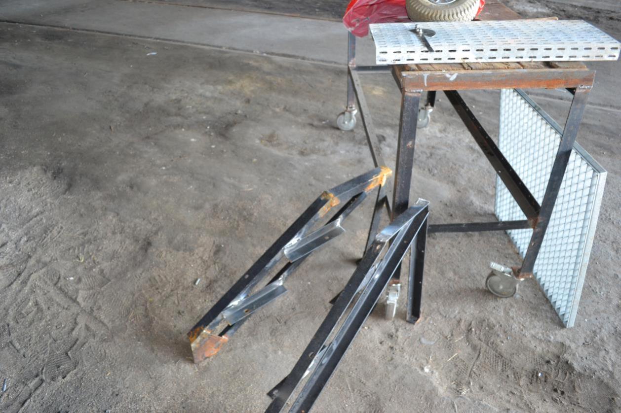 L'escalier mécanique prend forme