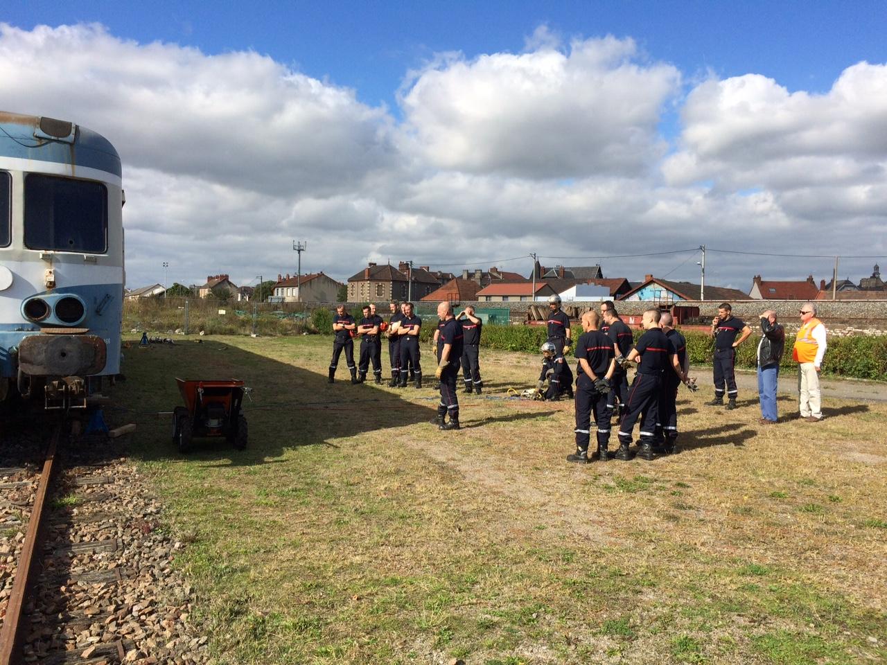 Exercice des pompiers 1