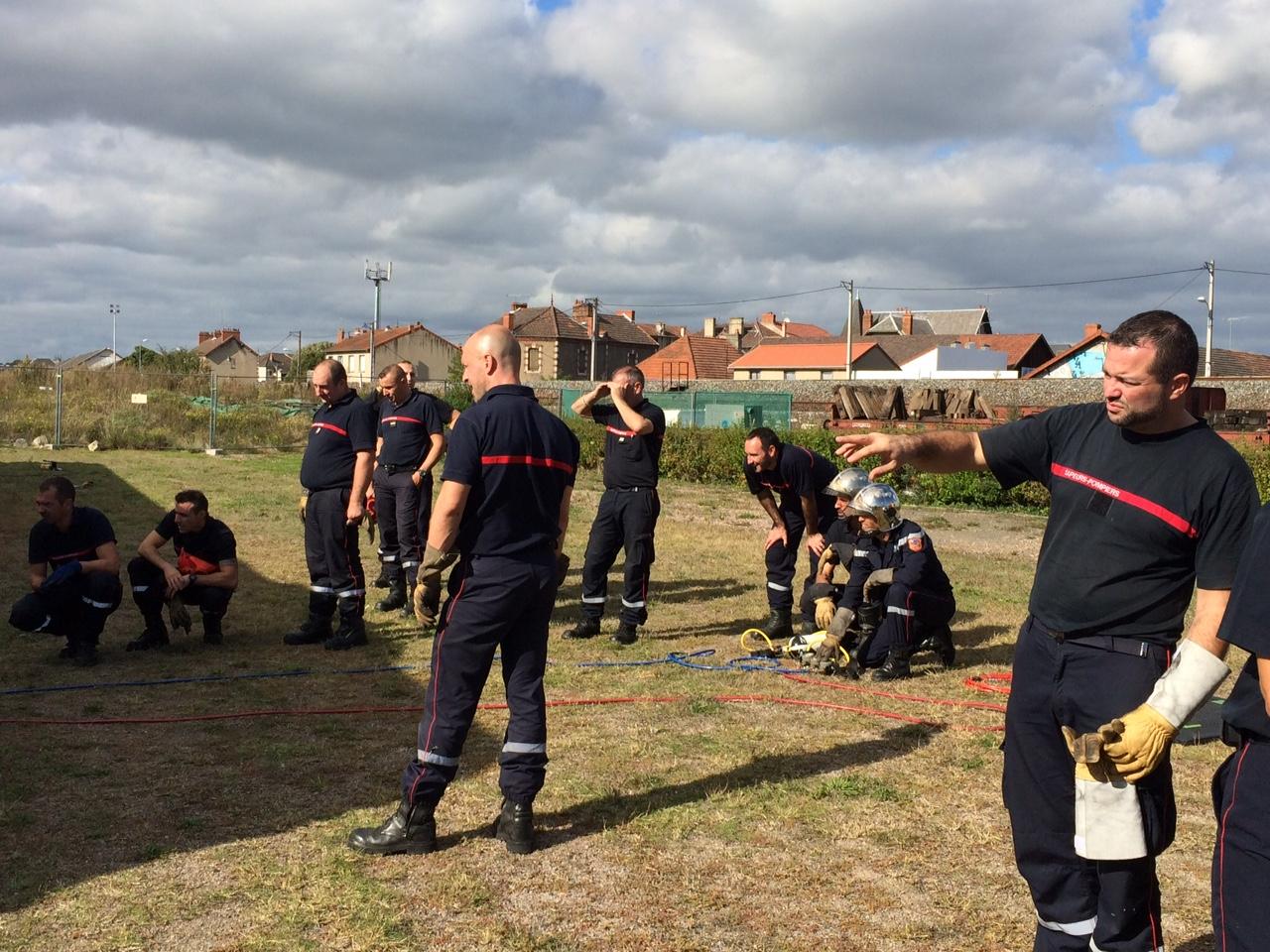 Exercices des pompiers 3