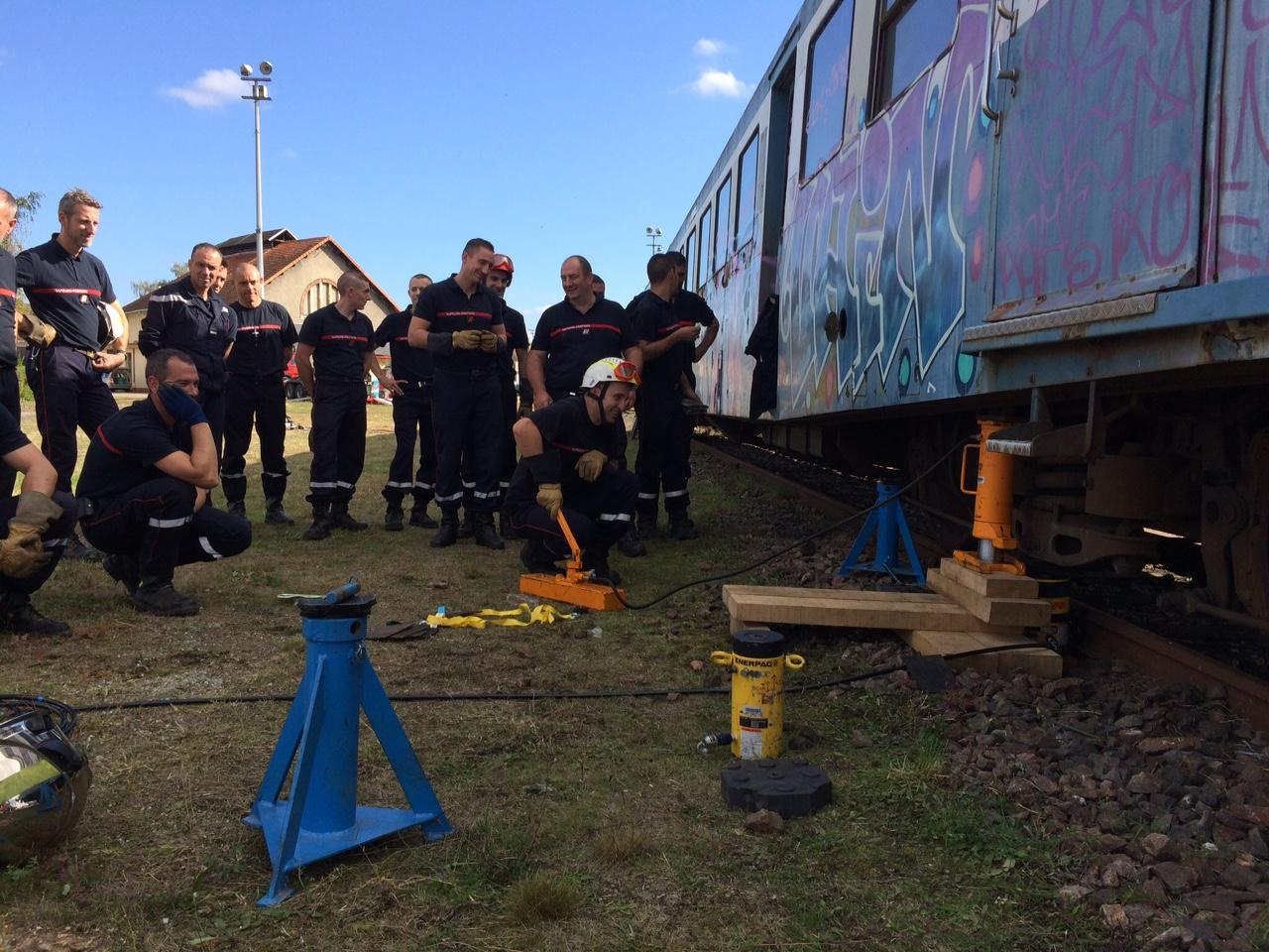 Exercice des pompiers 5
