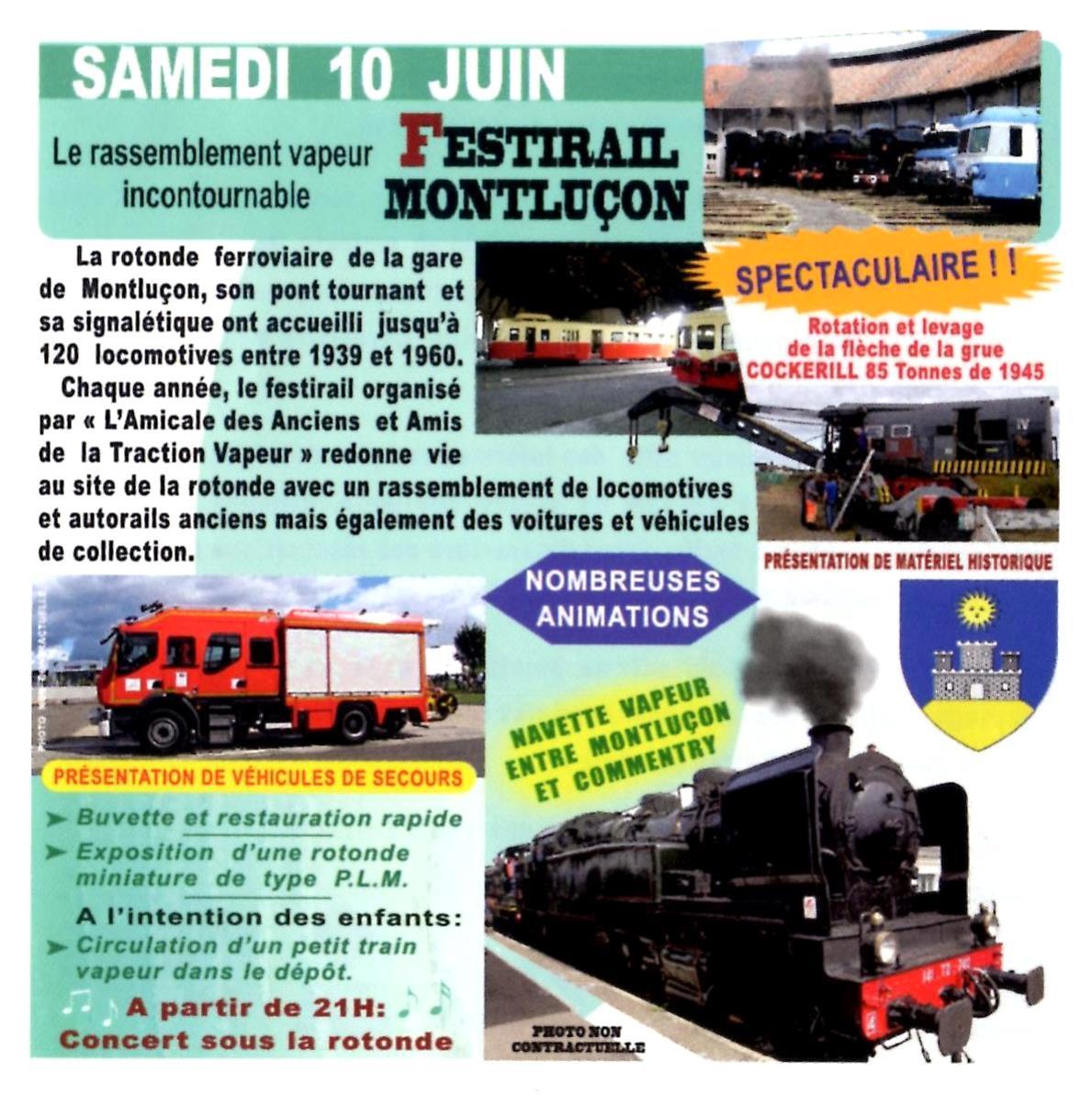 Festirail à Montluçon
