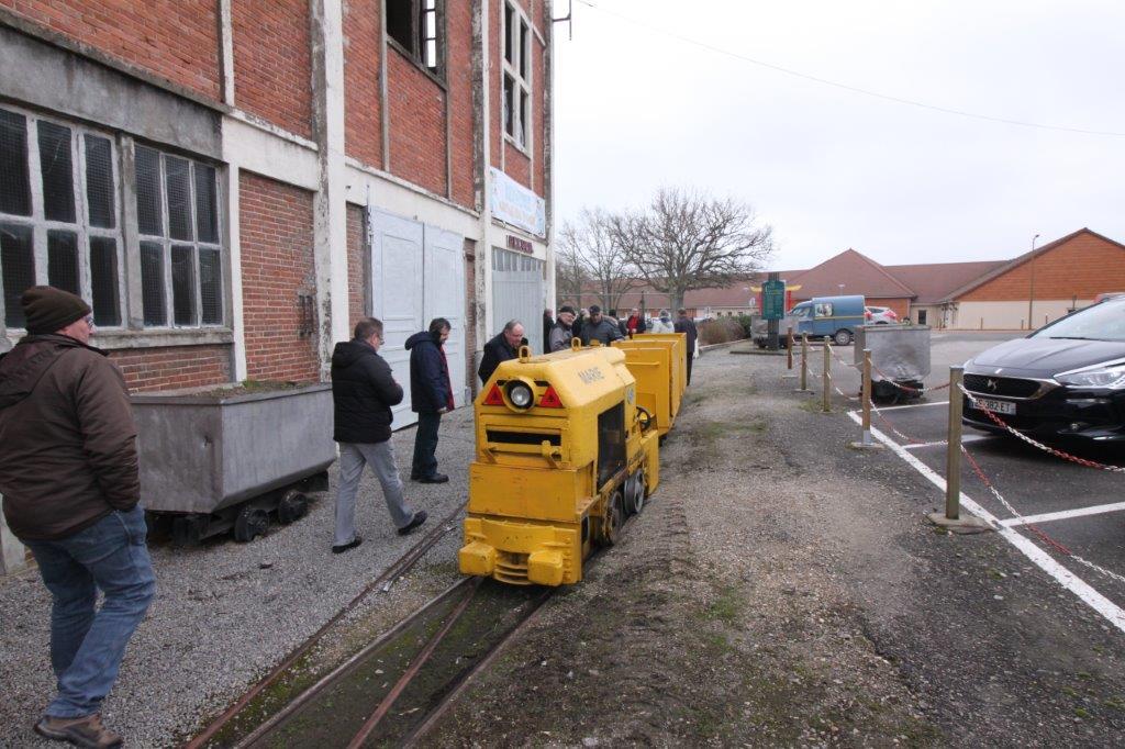 Visite des anciennes mines de charbon à Noyant d'Allier (Allier)