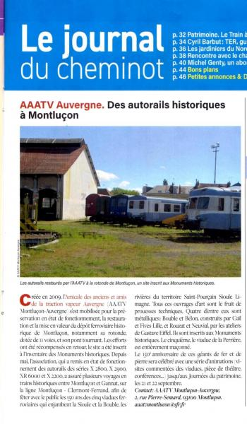 La viedu rail du 13 sept 2019