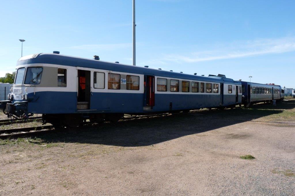 La rame est prête pour le train du 2 octobre 2016