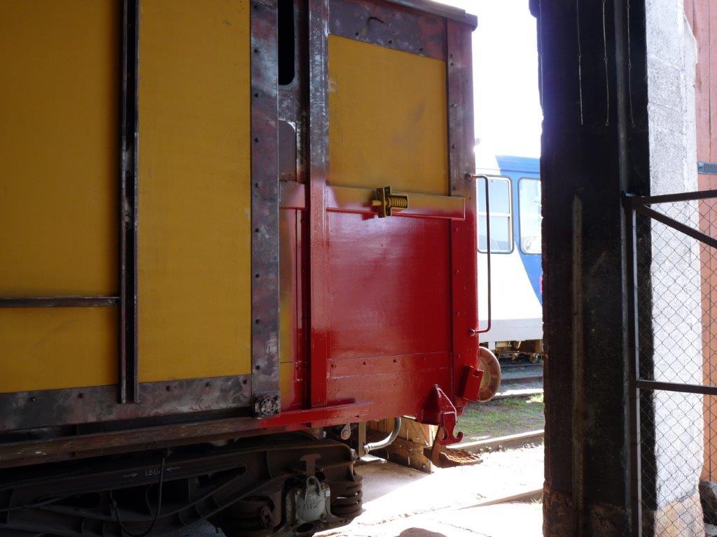 Un aperçu de la teinte prochaine du wagon atelier