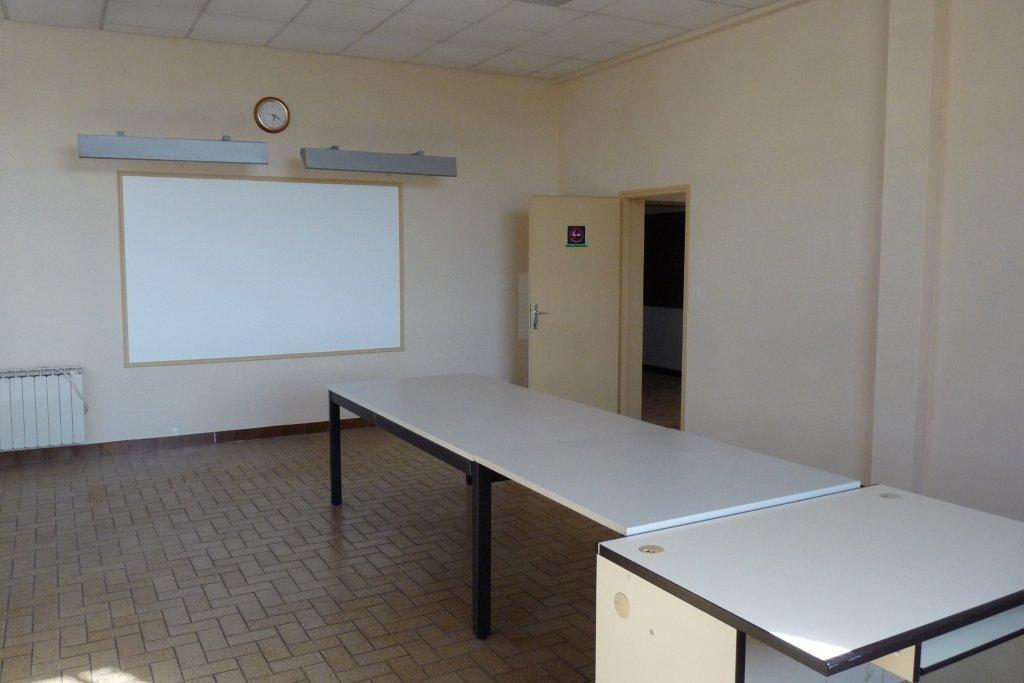 La salle de conférence après refection